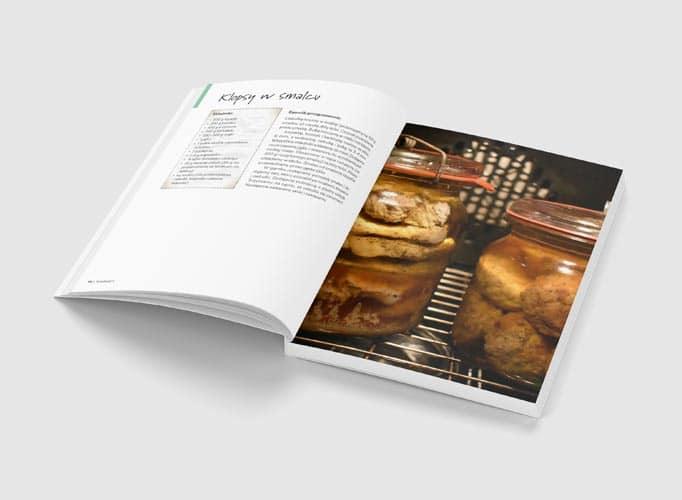 Wyrób konserw w słoikach i puszkach - wnętrze książki